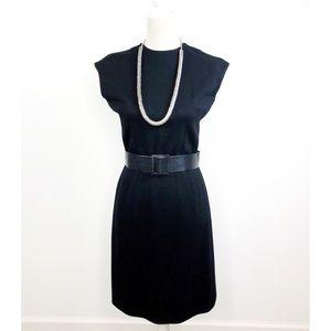 Vintage 1960S Dalton Wool Dress and Cardigan Set